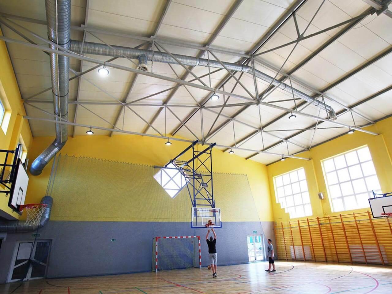 Sala Gimnastyczna W Lelisie Led Line Producent